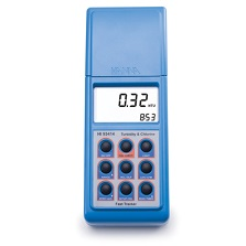HI 93414 Turbidity and Free/Total Cl2 Portable Meter